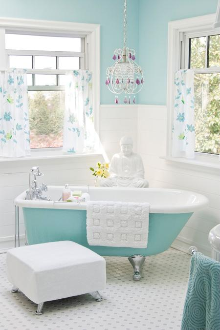 It s time for the beautiful bathrooms challenge the for Pretty bathrooms