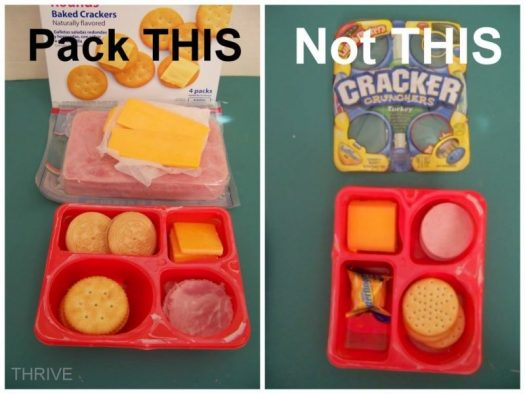 Cost effective Lunchables