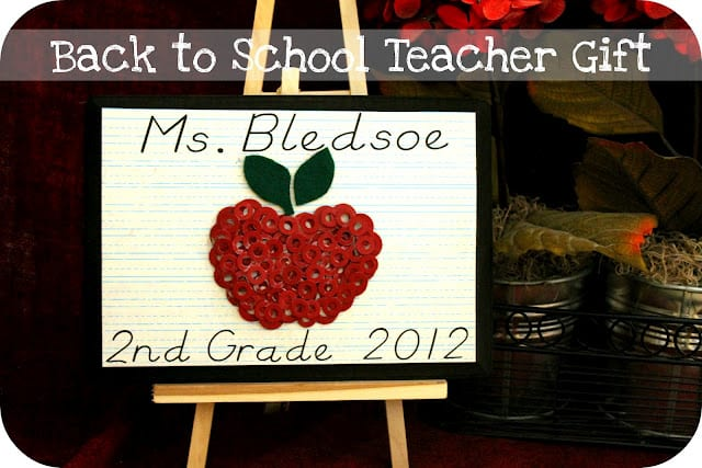 Back to School Teacher Plaque 10