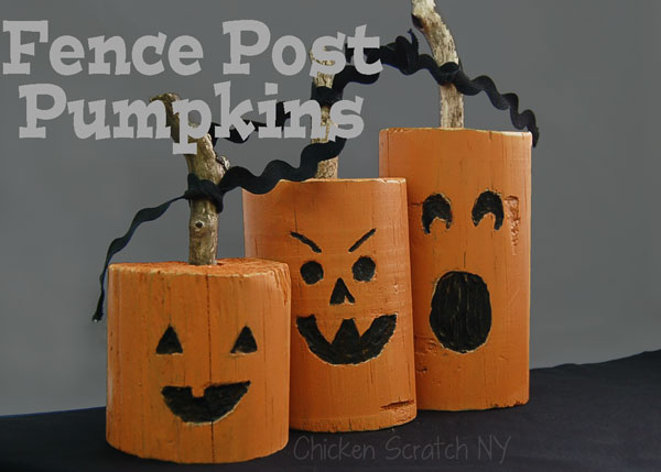 Fence-Post-Jack-O-Lanterns