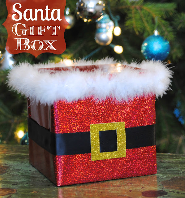 Santa Gift Box Happy Go Lucky The Csi Project