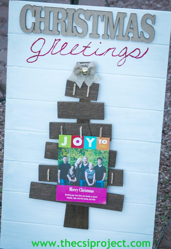 card holder2. Wood Christmas Tree: Hobby Lobby ...