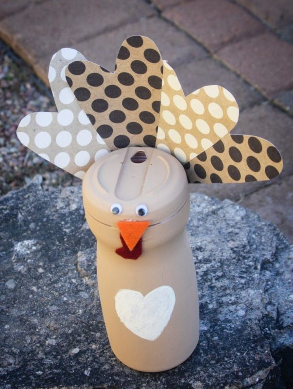 Recycled Turkey Craft {Kids Craft} | The CSI Project