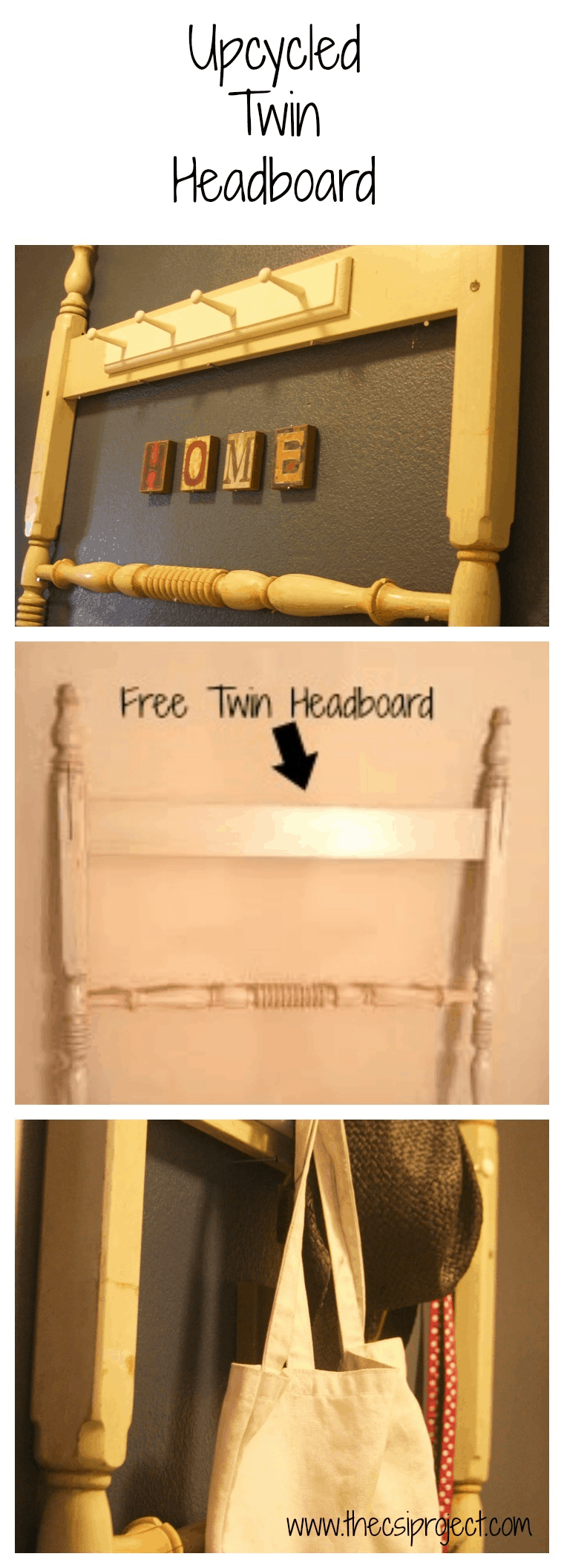 Upcycled Headboard
