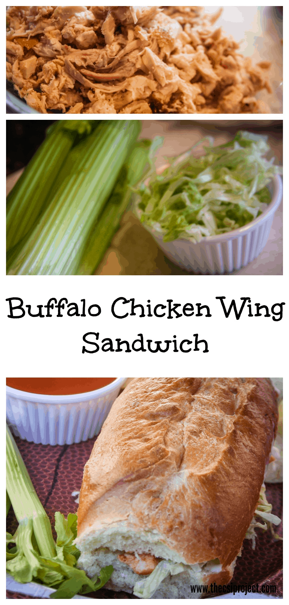 Buffalo Chicken Wing Sandwich
