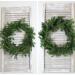 DIY Fresh Fir Christmas Wreath